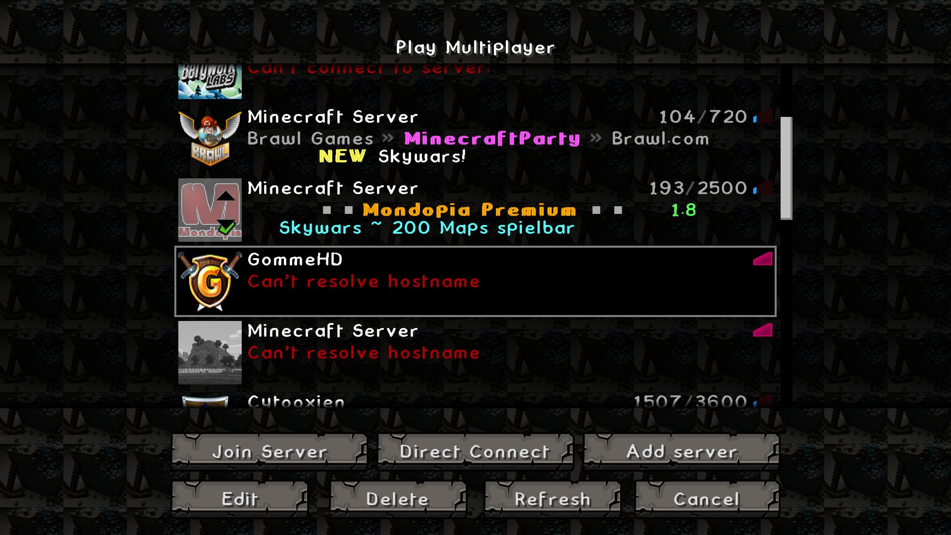 Erledigt Komme Nicht Auf Den Server GommeHDnet - Minecraft server erstellen wie gommehd