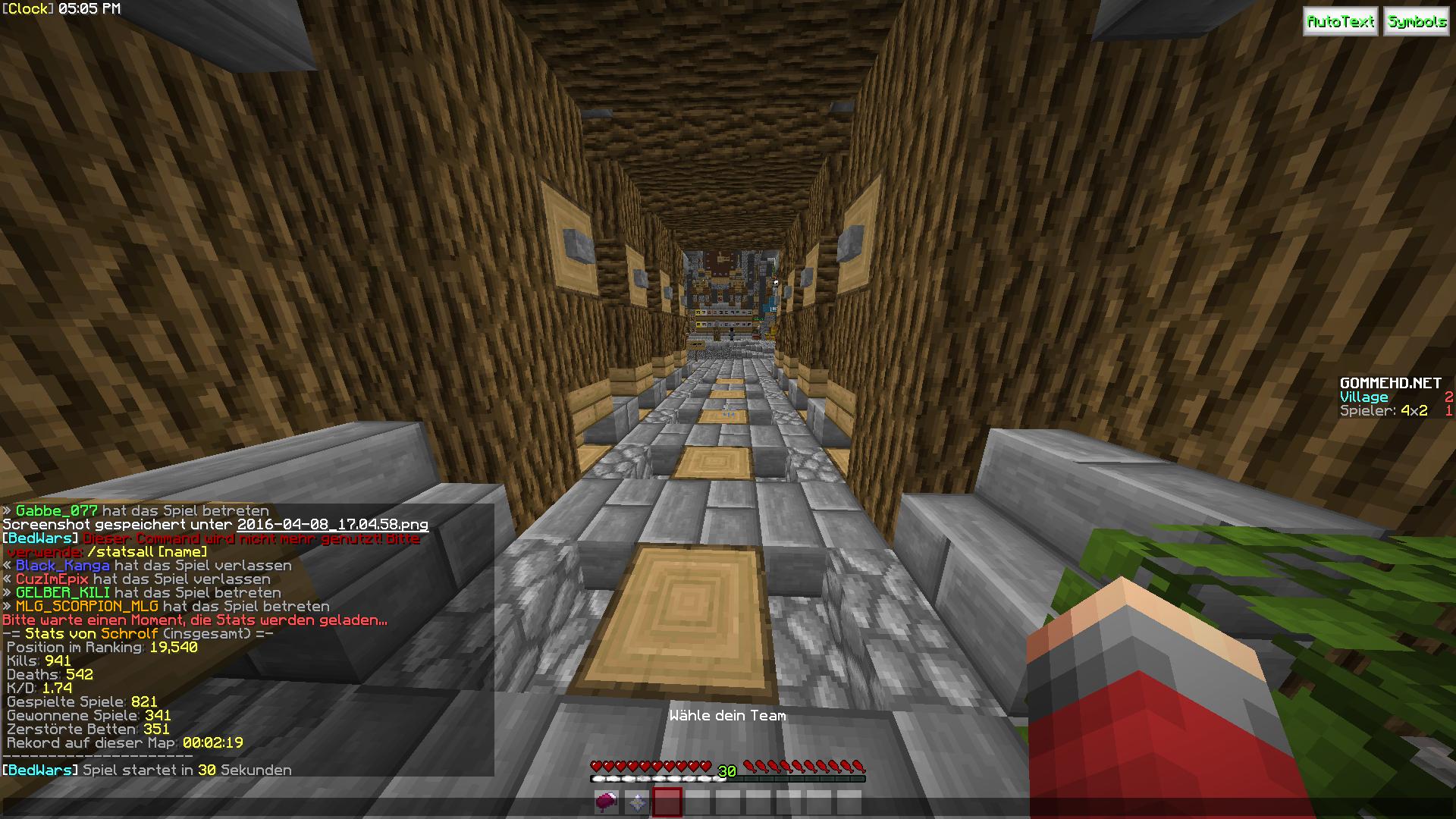 Ir Spielen Heute Minecraft Bedwars REV - Minecraft bedwars spielen kostenlos