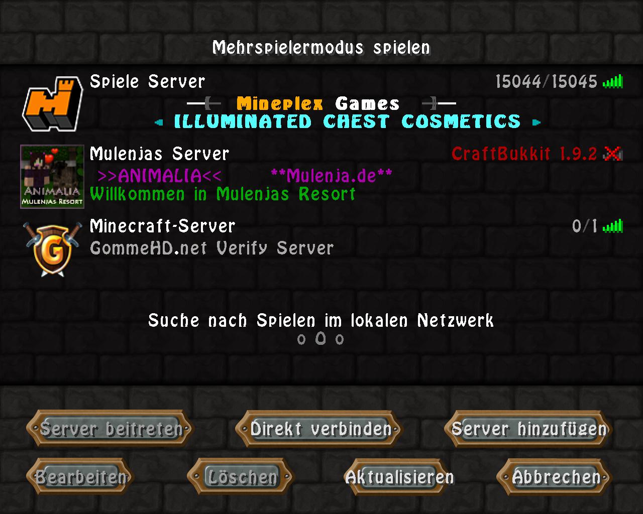 Erledigt Verify Server GommeHDnet - Minecraft server erstellen wie gommehd