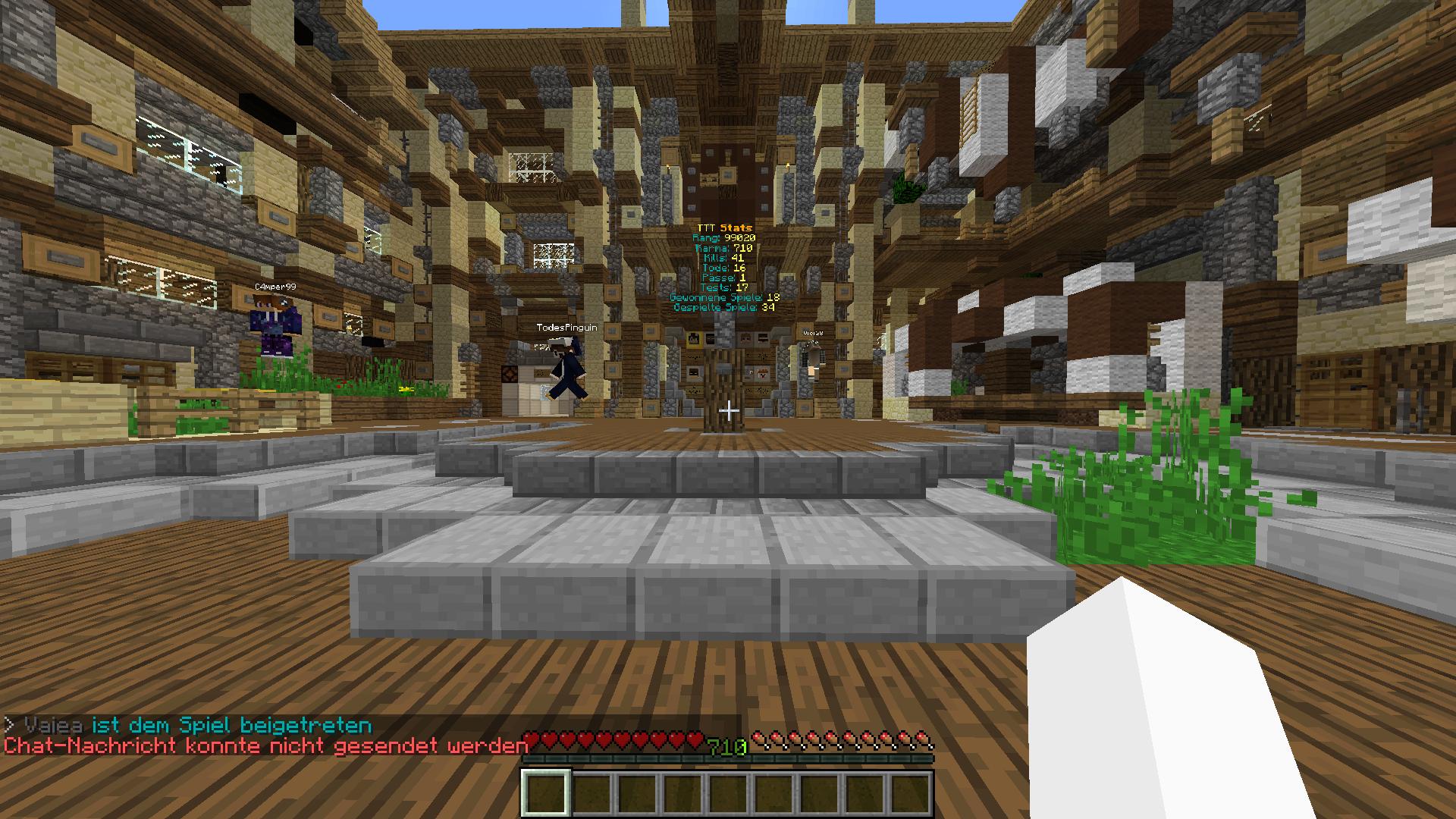 Erledigt Chatban Oder Bug GommeHDnet - Minecraft ttt spielen